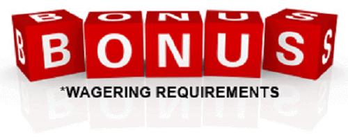 bonus-Wagering Requirements UK
