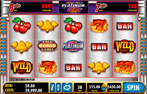 Platinum Quick Hit Slots