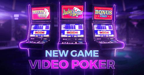 Video Poker Brand New Games