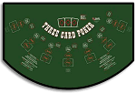 3 Card Poker Layout