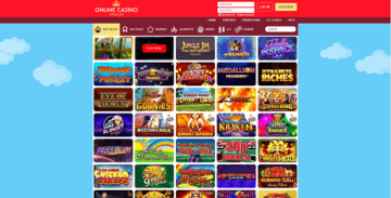 Online Casino London Lobby