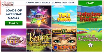 Pocket Vegas Games