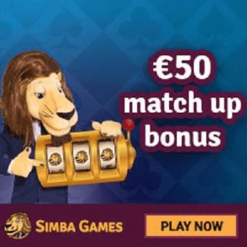 Games at Simba Casino