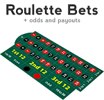 Roulette Bets and Odds